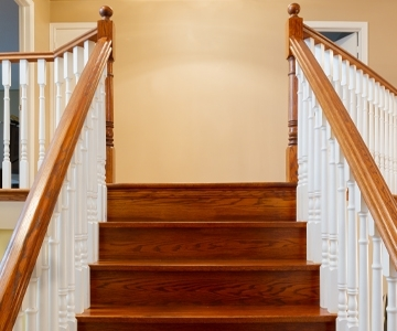 Wood Stairs & Spindles
